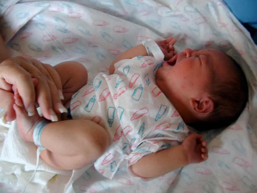 Grčevi kod bebe
