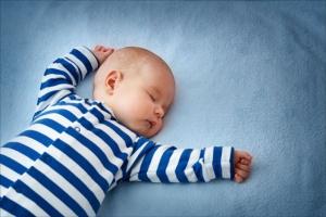 Važno je da bebe spavaju na leđima