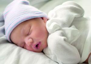U kom položaju treba da spava novorođenče?