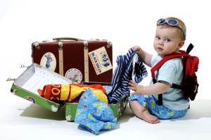 Šta je sve jednoj bebi potrebno za putovanje