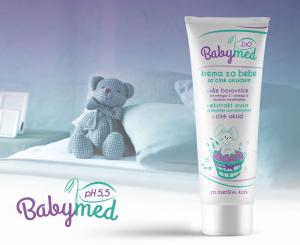 Preporučujemo: BabyMed, zaštitna krema sa ZnO, za osetljivu kožu pelenske regije