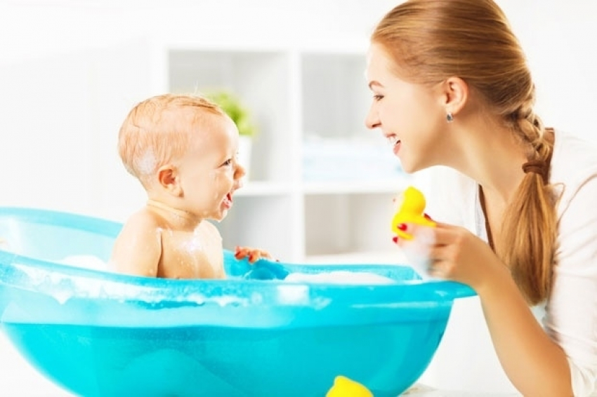 Ne kupajte bebu svaki dan