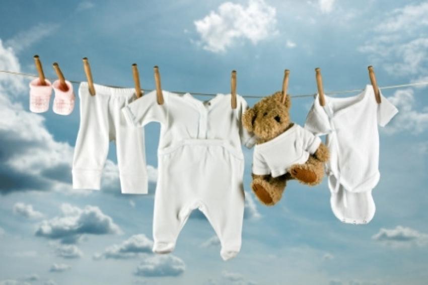 Pranje odeće za bebe