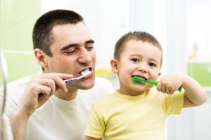 Pranje četkicom od prvog zubića