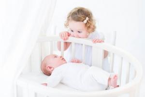 Spavajte s bebom u istoj sobi