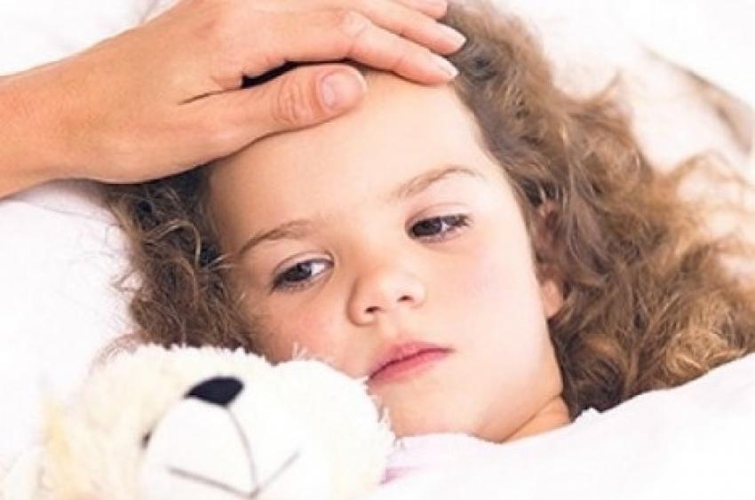 Povišena temperatura kod dece u sred leta