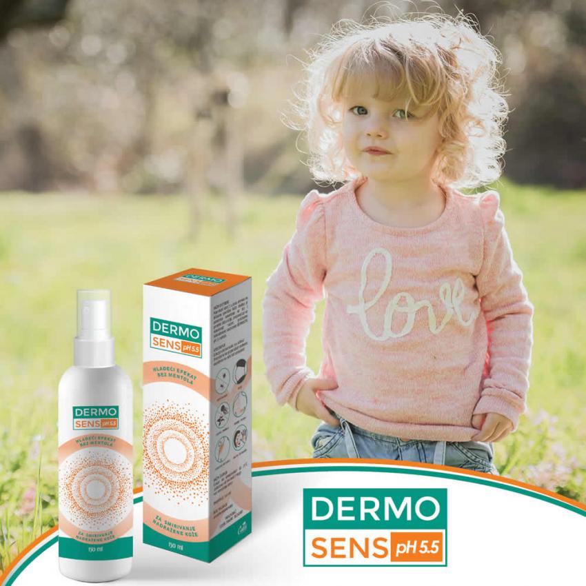 Dermosens pH 5,5 sprej - vaš prijatelj za bezbrižne trenutke i uživanje u prirodi